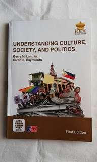 Understanding Culture, Society and Politics Textbook (K-12)