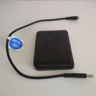 750GB Western Digital WD Portable External Hard Drive