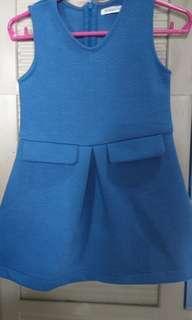 Pre loved Blue Dress (gingersnaps)