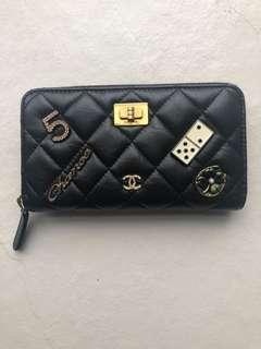 Chanel charm wallet