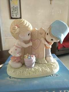Precious Moments Figurine - 2013 sharing my heart with you