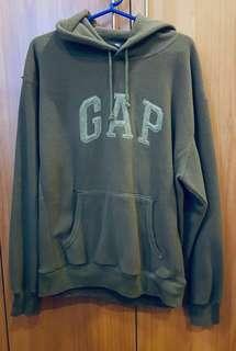GAP Men's Hoodie Jacket in Army green shade