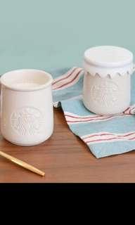🚚 Starbucks Korea yoghurt jar