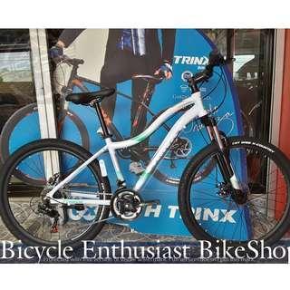 2018 Trinx Nana N106 26 Ladies Mountain Bike MTB Bicycle Teens Teenagers Biking Cycling Keysto Phantom Totem
