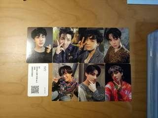 [WTS] BTS army bomb ver 3 replica photocards