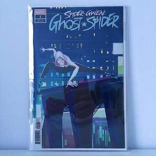 Spider-Gwen: Ghost Spider #1 Animation Variant