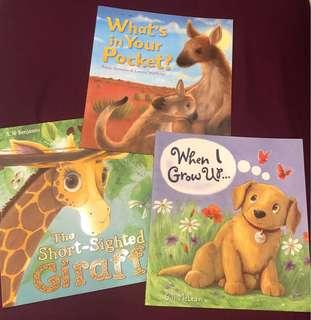 🚚 All 3 picture books for $5