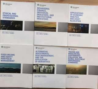 CFA institute Level 3 books