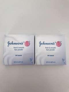 Johnson's face powder