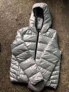 Terranova Bubble/Puffer/Winter Jacket Silver