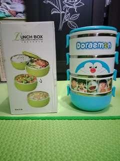 Lunch box / rantang doraemon 4 susun