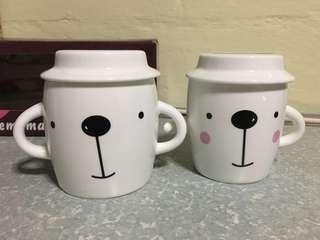 Loving Bunny Couple Cups #makespaceforlove