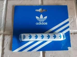 Vintage Authentic Adidas Originals Logo NEW Blue Laces New for Stan Smith NMD EQT Sports Shoes Sneakers