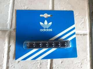 Vintage Authetic Adidas Originals Logo NEW Black Laces New for Stan Smith NMD EQT Sports Shoes Sneakers
