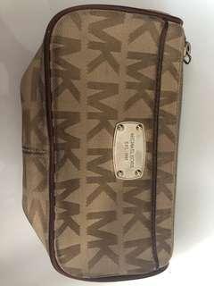 Michael Kors pouch/ wallet canvas