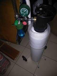 Tabung oksigen + isi 1m3