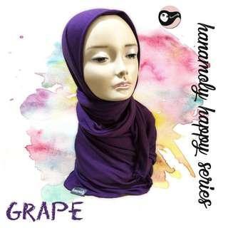 🚚 Jersey shawl (purple grape)