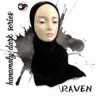 🚚 Jersey scarf (black)