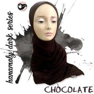 🚚 Jersey shawl (dark brown)