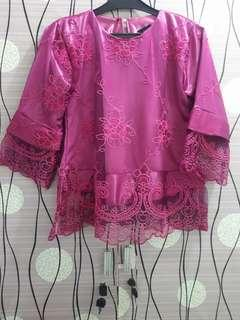 Blouse Lace purple