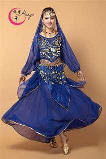 🚚 Alibaba costume - belly dance - D&D - blue