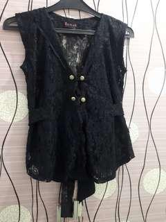 outer Lace hitam