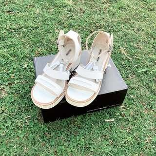 Windsor Smith White Chunky Shoes