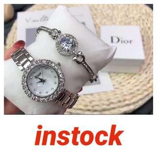 Brand new Dior watch set with box