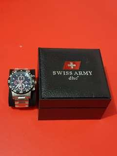 Jam Tangan Swiss Army series SA9878M ( DHC+ )