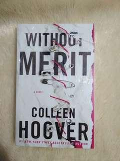 Without Merit Colleen Hoover *new*