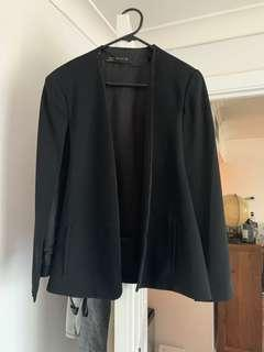 Zara cape blazer/jacket