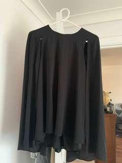 Cue cape blouse/top