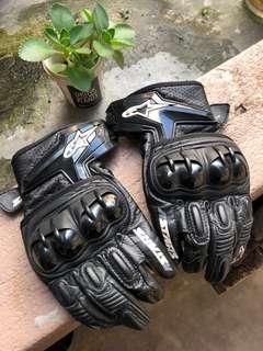 Alpinestars Riding Glove Leather