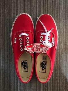 Vans Merah - Brand New