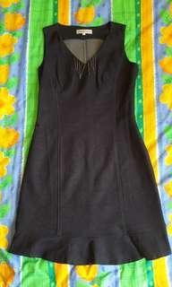 Dark blue dress (Size S)