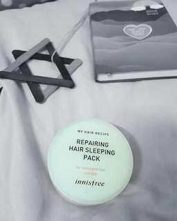 Innisfree repairing hair sleeping pack #MFEB20