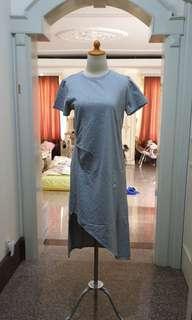 Cottonink assymetrical dress