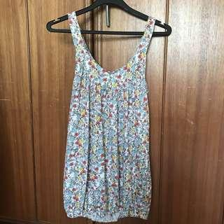 New Look Sleeveless Floral Top