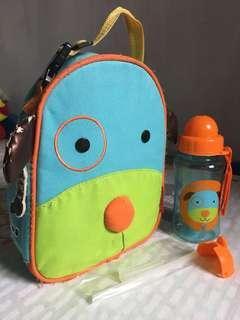 Darby Lunch bag & Straw bottle set