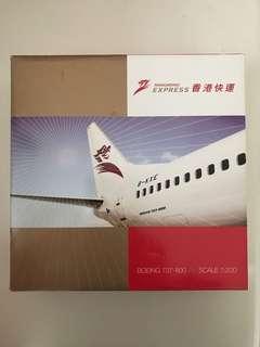香港快運 Boeing 737-800 1:200 飛機模型