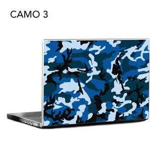 Laptop Sticker / Laptop Skin / Camo