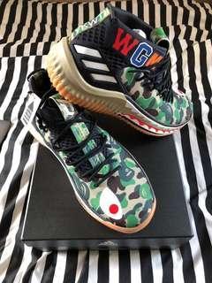 f9c71cbb063cf0 Adidas Bape Dame 4 Camo Green US8.5 BNDS