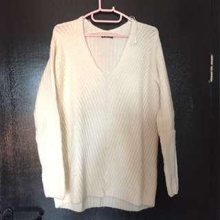 Overloose Creamy Knit