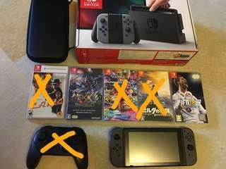 Nintendo Switch 行貨齊盒有保養
