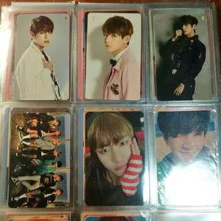 🚚 bts taehyung/v photocards