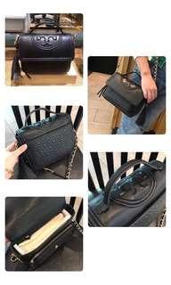 Tory Burch Black Hand Bag Sling Bag