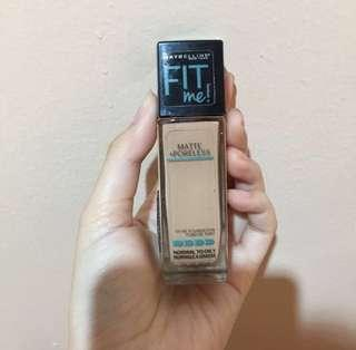 MAYBELLINE FIT ME! FOUNDATION MATTE AND FRESH