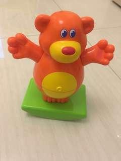 可拆卸可摇摆玩具熊