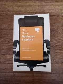 🚚 100 Great Business Leaders of the World's Almost Admired Companies book