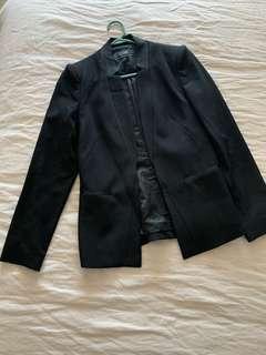 Cue black blazer - size 8